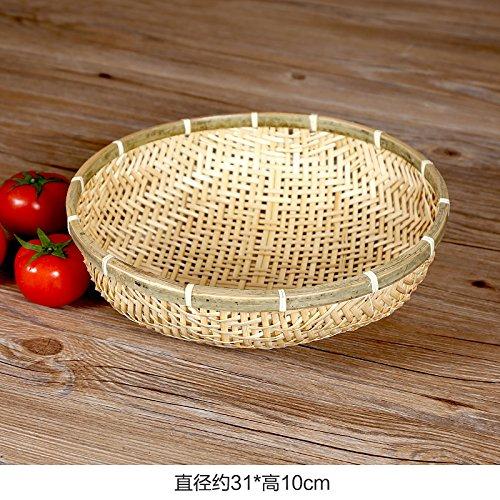 XBR runde Bambus kehrichtschaufel runde Bambus Bambus Bambus kehrichtschaufel Reis Korb Obst - Korb,XL B077RQJTZT Krbe & Koffer Stilvoll und lustig 961b6f