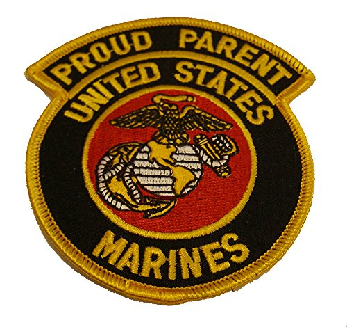 PROUD PARENT UNITED STATES MARINES PATCH - Color - Veteran Owned Business. - Colours Marine