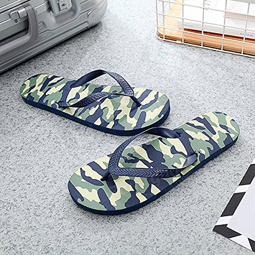 Somersaulting Founder Insolent Jerk Fall Pass Toss Washout Disrespectful Switch Dud 1PCs Men S Flop Comfortable Casual Beach Non Slip Anti Foot S Injury Camouflage Pattern Sandal