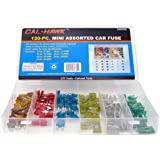 Cal-Hawk CAPCFM Assorted Car Truck Mini Fuse 5,7.5,10,15,20,25,30 Amp