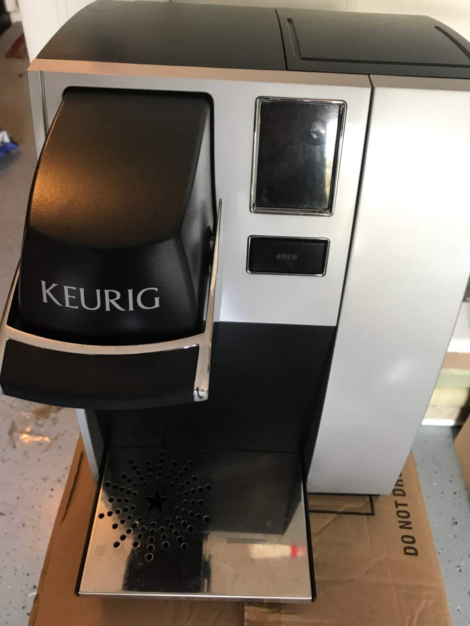 Keurig K150p Commercial Brewing System Pre Assembled For Bunn Single Wiring Diagram Direct Water Line Plumbing Kitchen Dining