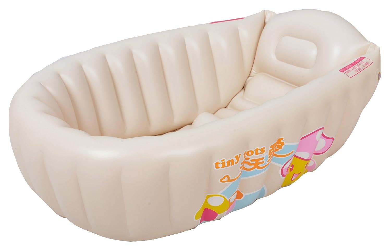 Anokay Aufblasbare Neugeborene Kleinkind Babybadewanne (0 4 Jahre)  Badewannensitz Mit Thermometer, Baby Badesets Für Unterwegs Faltbar  Badewanne Für Babys ...