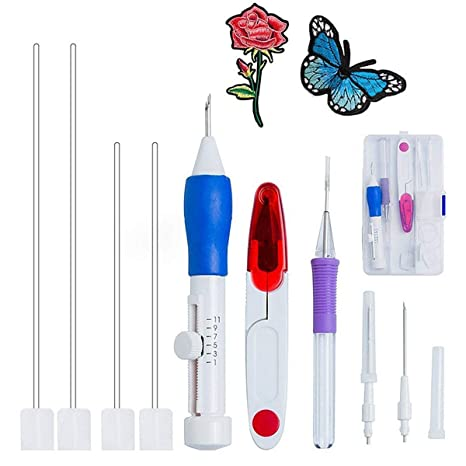 Magic bordado Pen, euow Punch Needle Set Craft tool-abs ...