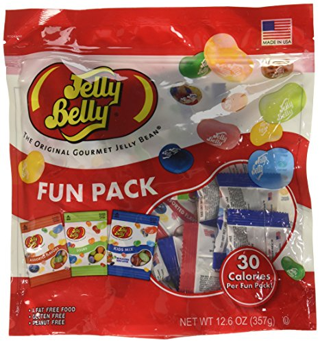 Jelly Belly Jelly Beans Assorted, Sours and Kids Mix Fun Pac