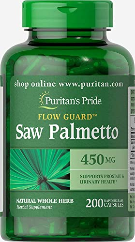 Puritans Pride Saw Palmetto 450 Mg, 200 Count