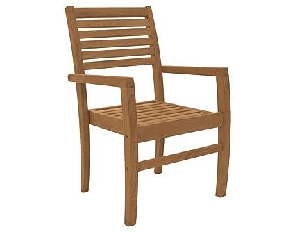 Amazon.com: Royal teca colección avtsc Avant teca silla ...