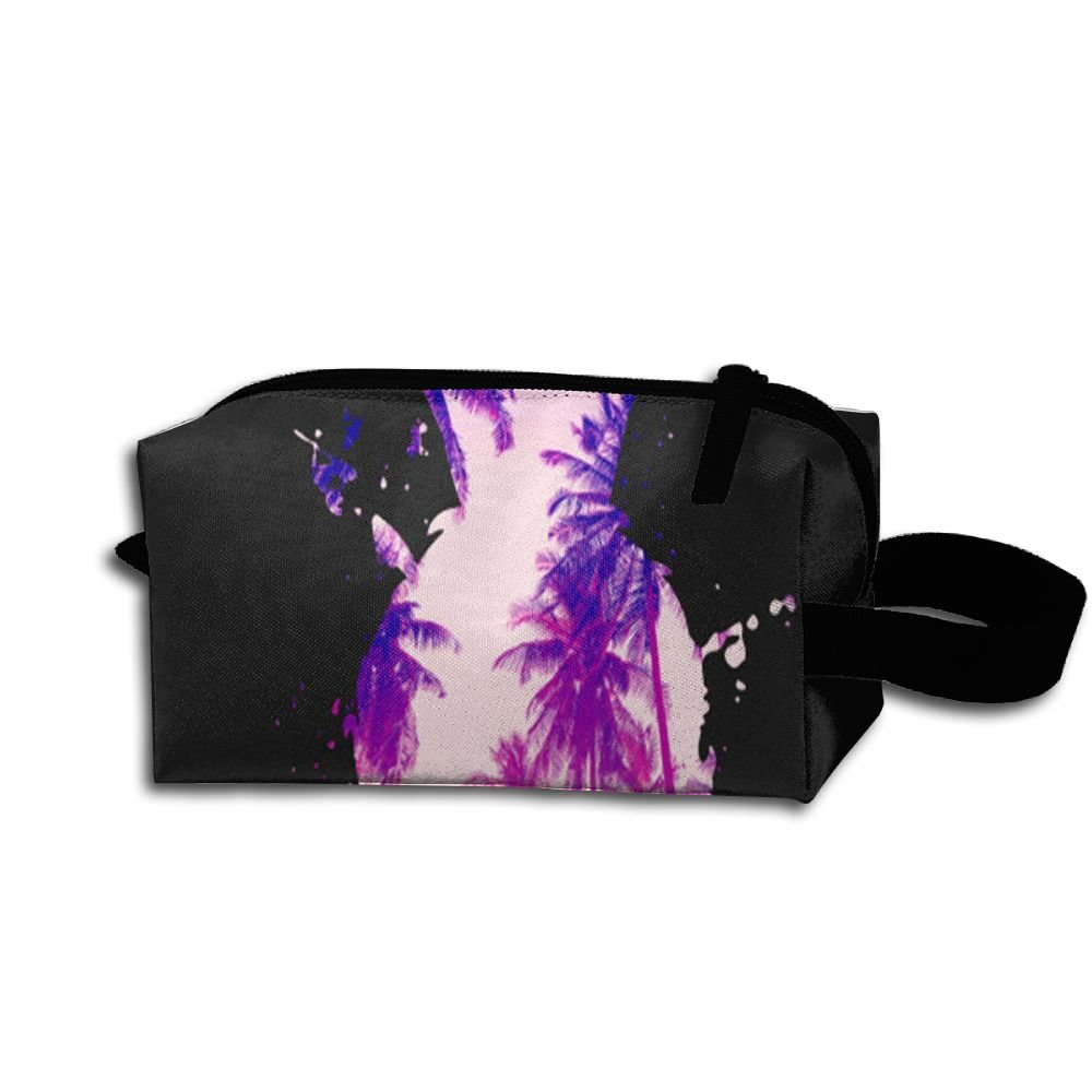 f8752fcef6 60%OFF Alin-Z Scenery Pineapple Hangbag Printed Portable Cosmetic Bag  Toiletry Pouch For