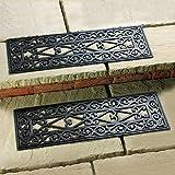 Betterware Lot de 2 tapis anti-dérapants d'escalier extérieur