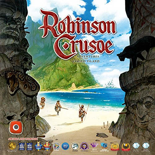 Portal Games Robinson Crusoe Adventures on the Cursed Island Board Game -