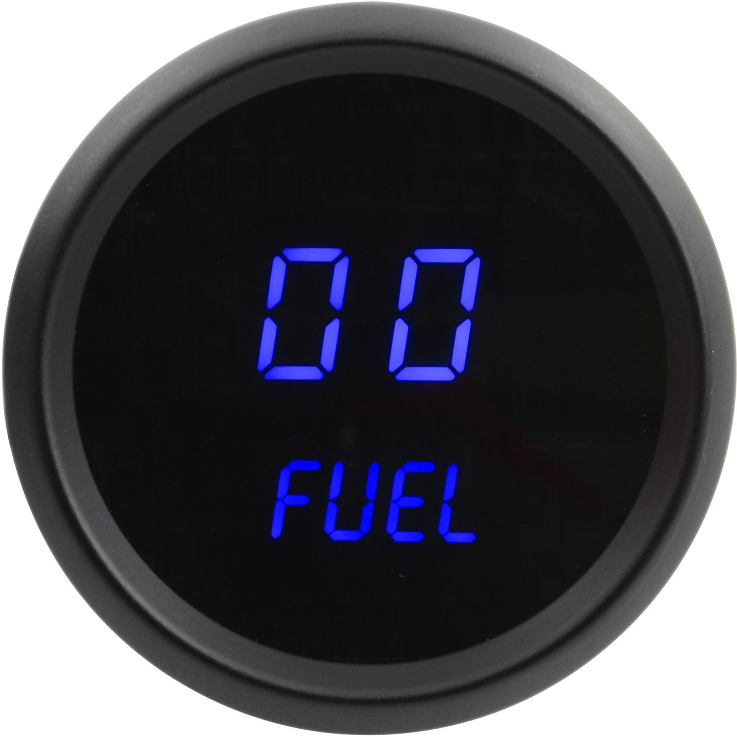 JEGS Performance Products 41433 Fuel Level Gauge LED Digital 99/% Read Out 2-1//16