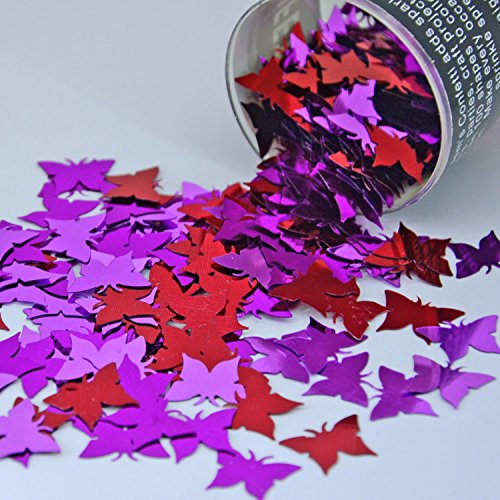Confetti Butterfly Big Butterflies Mix - Retail Pack #9522 - Free Ship -