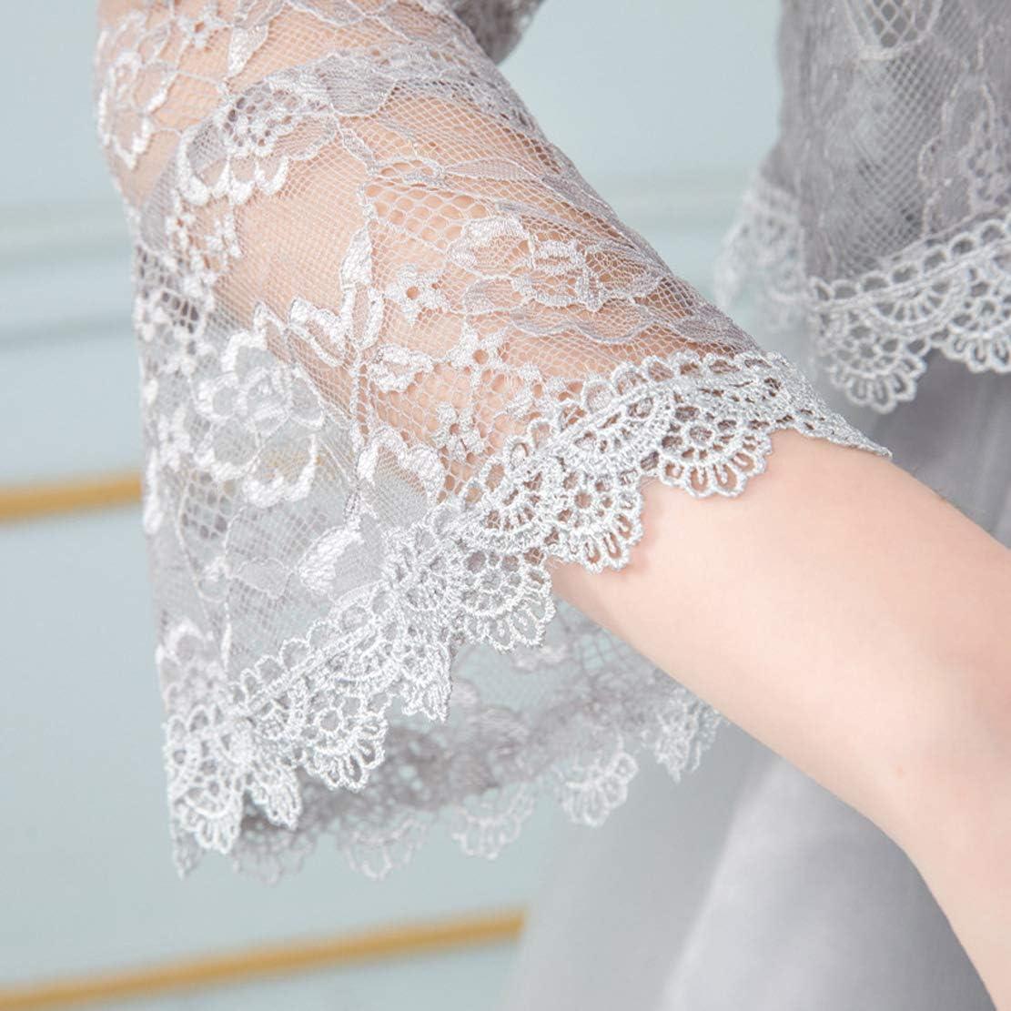 Elifemona Womens Fashion Lace Scarves Bolero for Evening Dresses Wrap Cape Shawl