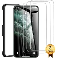 AINOPE [3 Packs] Screen Protector Compatible with Apple iPhone 11 Pro Max & iPhone Xs Max (Install Frame) iPhone Xs Max Tempered Glass Screen Protector Case Friendly for Apple 6.5 & iPhone 11 Pro Max