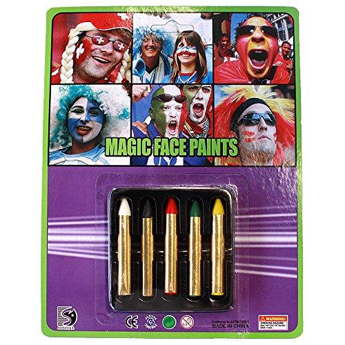 UNI --MAGIC FACE PAINTS (Halloween Jester Face Paint)