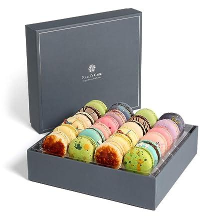 Swell Amazon Com Kaylas Cake Premium French Macarons Cookies Gift Birthday Cards Printable Benkemecafe Filternl