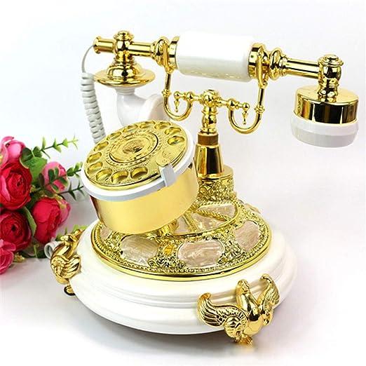 Yxyxml - Tocadiscos Retro Antiguo para teléfono de Oficina o casa ...