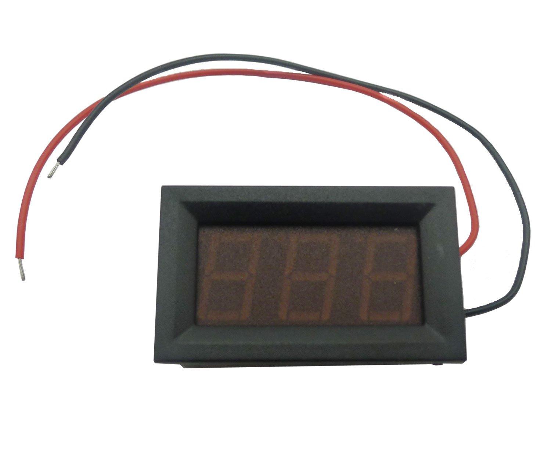Aihasd 3.2-30V Digital Voltmeter LED Spannungsanzeige Panelmeter