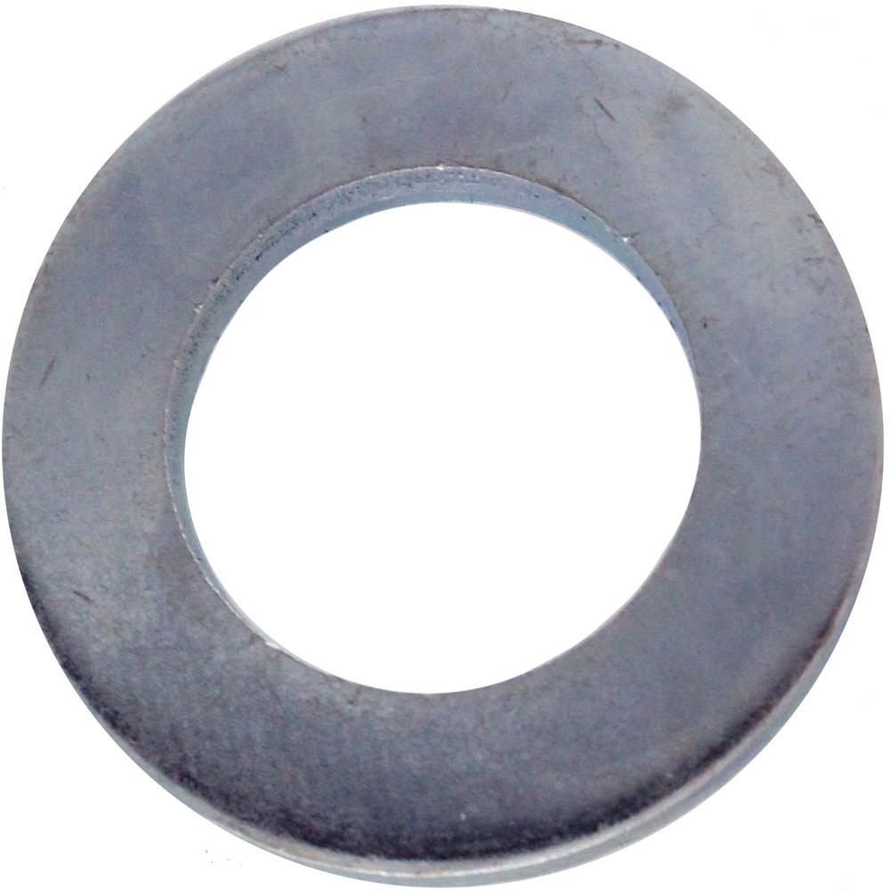 10x hexagonal nuts 25 (M24) DIN 125, stainless steel A2 dely trade
