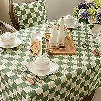 American Pool-Tisch Tuchgewebe/Einfache pastorale karierten Tischdecke/...
