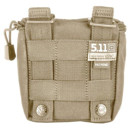 5.11 Tactical VTAC Shotgun Shells Ammo Pouch Bag, MOLLE/SlickStick System Compatible, Style 56119