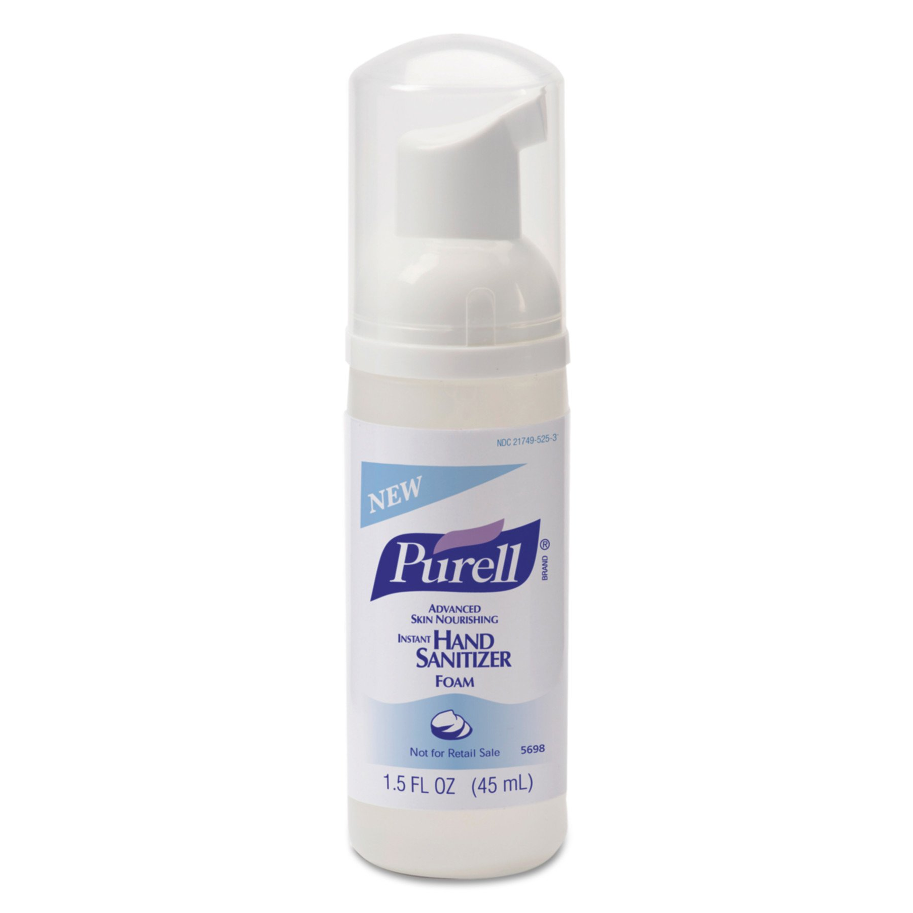 PURELL 569824 Instant Hand Sanitizer Skin Nourishing Foam, 45mL (Case of 24) by Purell