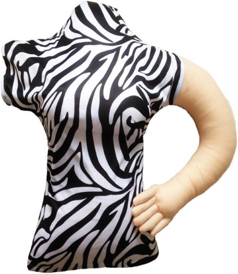 newsilkroad almohada de novia, novia de almohada, patrón de cebra brazo almohada para hombre: Amazon.es: Hogar