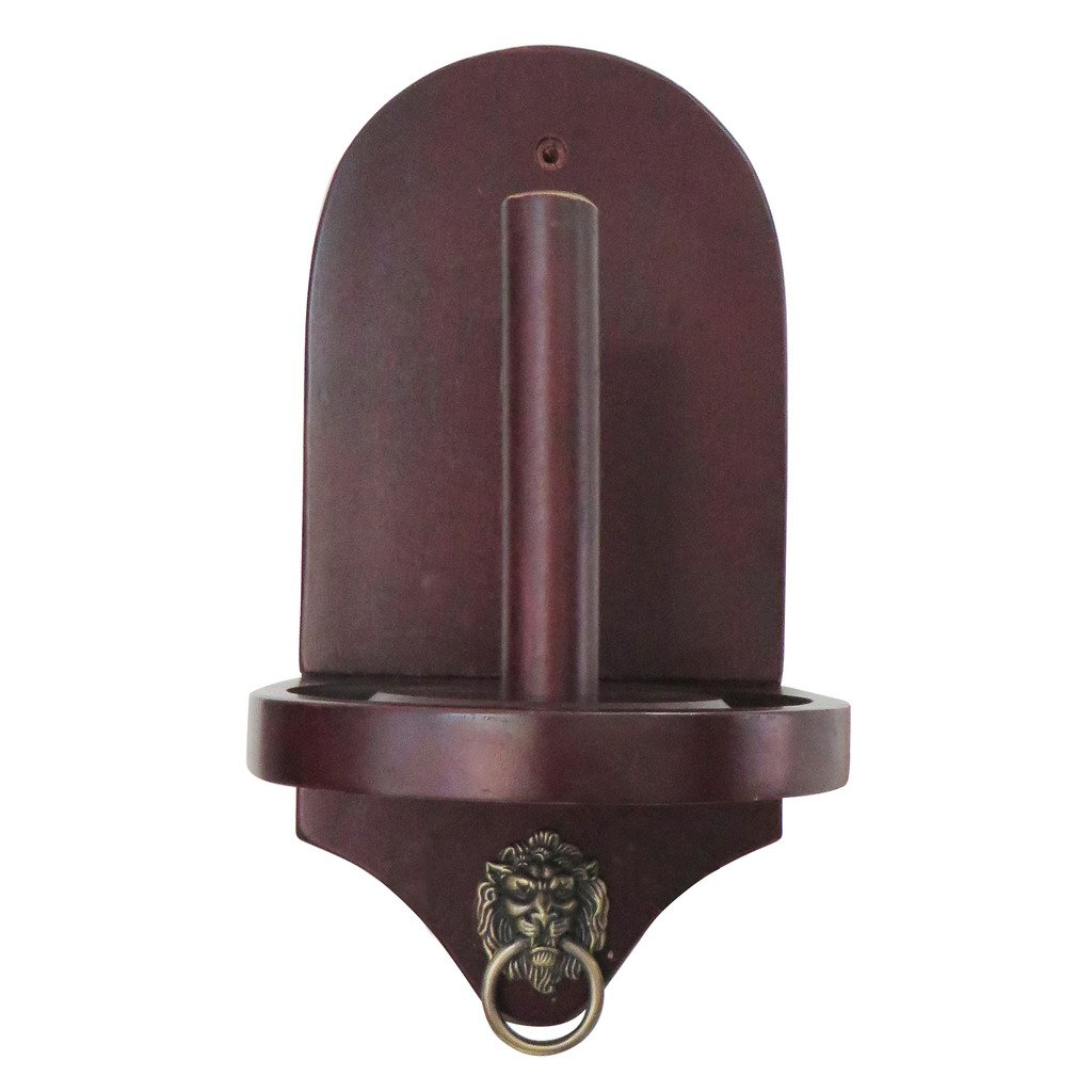 Hathaway Premier Cone Chalk Holder, Mahogany Finish