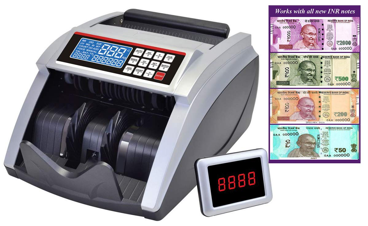 BME Elite – Lite_LCD Money Cash Counting Machine with Fake Note Currency  Checking Detection Technology Latest Can Count All New & Old INR Notes. :  Amazon.in: Office Products