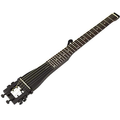 anygig acústica Acero Cuerdas guitarra negro 25.5 Inch largo equilibrada Diseño