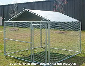 Amazon.com: King Canopy Dog House Kennel Cover - 10 by 10