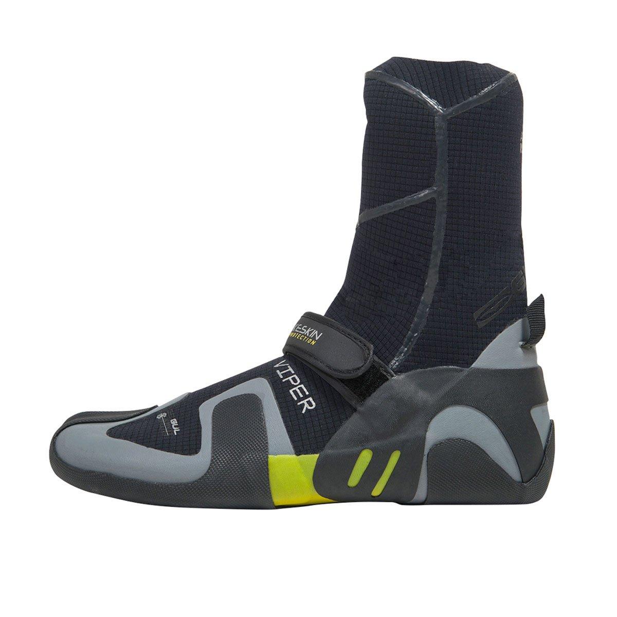 Gul Viper 5 mm Split Toe Boots 2017 – ブラック/イエロー 10  B01BHHMPK2