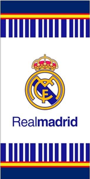 Toalla de Real Madrid, toalla de baño, toalla de playa 70x140cm (Blanco con España): Amazon.es: Bricolaje y herramientas