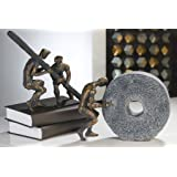 Teamwork Sculpture Poly broncefin. 2tlg.Set by CASABLANCA