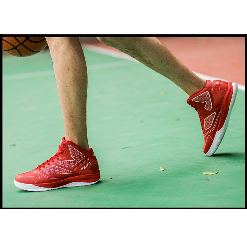 LanFengeu Herren Basketballschuhe Moderne Geschlossene Schn/ürsenkel Outdoor Turnschuhe Atmungsaktiv Hoch Tragen Stra/ßenlaufschuhe
