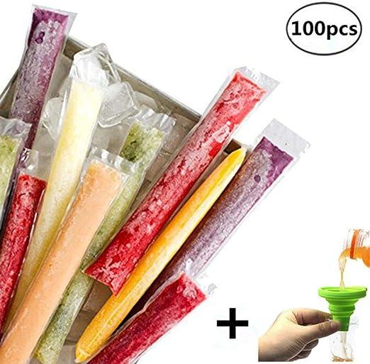 Compra LIXIFF 100 unids/Pack De Plástico FDA Paletas Moldes ...