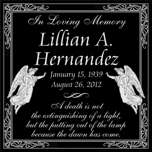 Customized Personalized Guardian Angel Personal Memorial ...