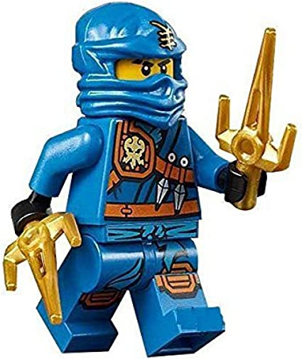 Amazon.com: LEGO Ninjago Minifigure - Jay Zukin Robe Jungle ...