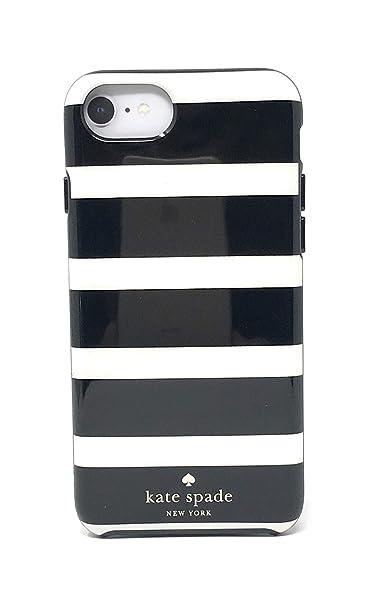 sale retailer 428b5 791fa Kate Spade Kinetic Stripe iPhone Case - iPhone 8/7/6s/6 - Black/Cream