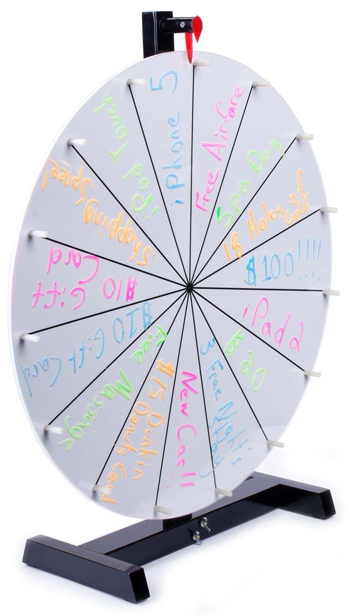 Displays2go Table Top Casino Prize Wheel