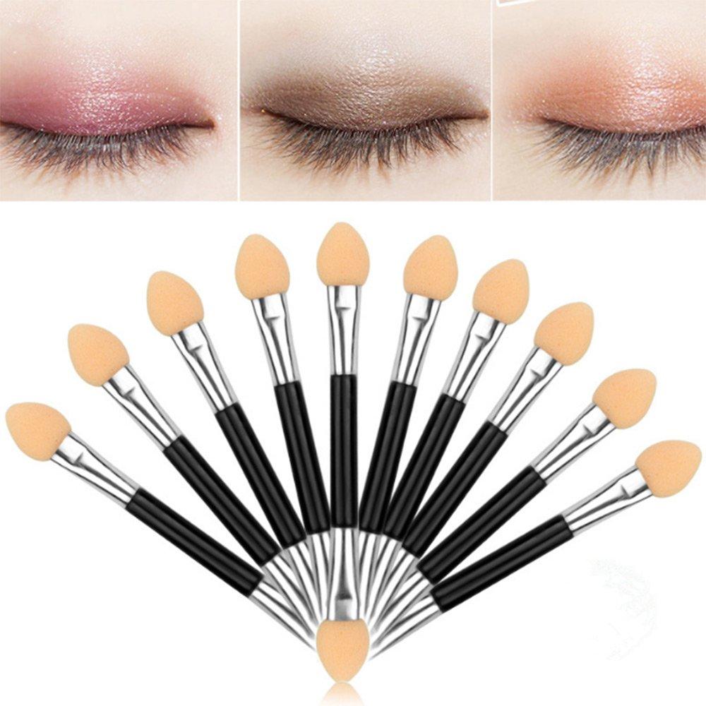 Dealglad® 10PCS/Pack professionale a doppia testa spugna stick ombretto, eyeliner spugna pennelli trucco di applicazione DealgladUK