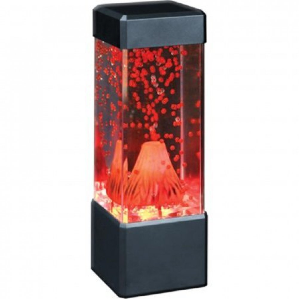 Fascinations Home Decor Volcano Lamp