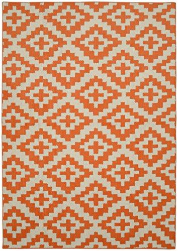 Garland Rug Southwest Area Rug, 5 x 7, Orange/Ivory by Garland Rug