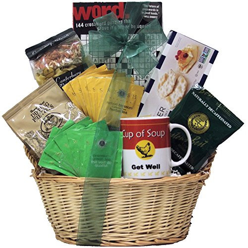 GreatArrivals Gift Baskets Get Well Cardiac Recovery Gift Basket