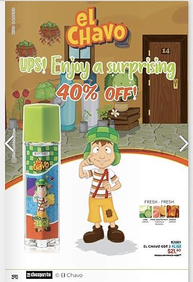Amazon.com: El Chavo Perfum for Kids, 2oz Perfume Para Nio ...