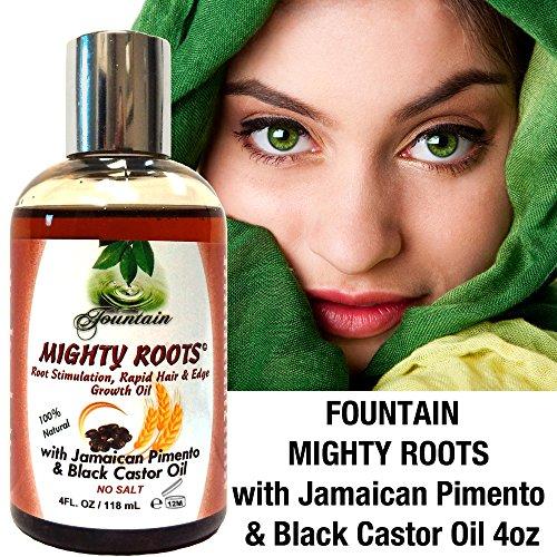 Buy Organic Edge Growth, Vegan Safe Jamaican Black Castor Oil Pimento Hair Loss Treatment Natural Hair Growth Product for 3 Times The Growth