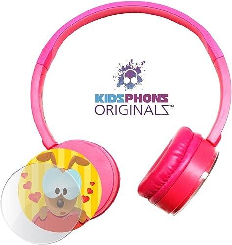 HamiltonBuhl Express Yourself Kidz Phonz Headphone – Pink