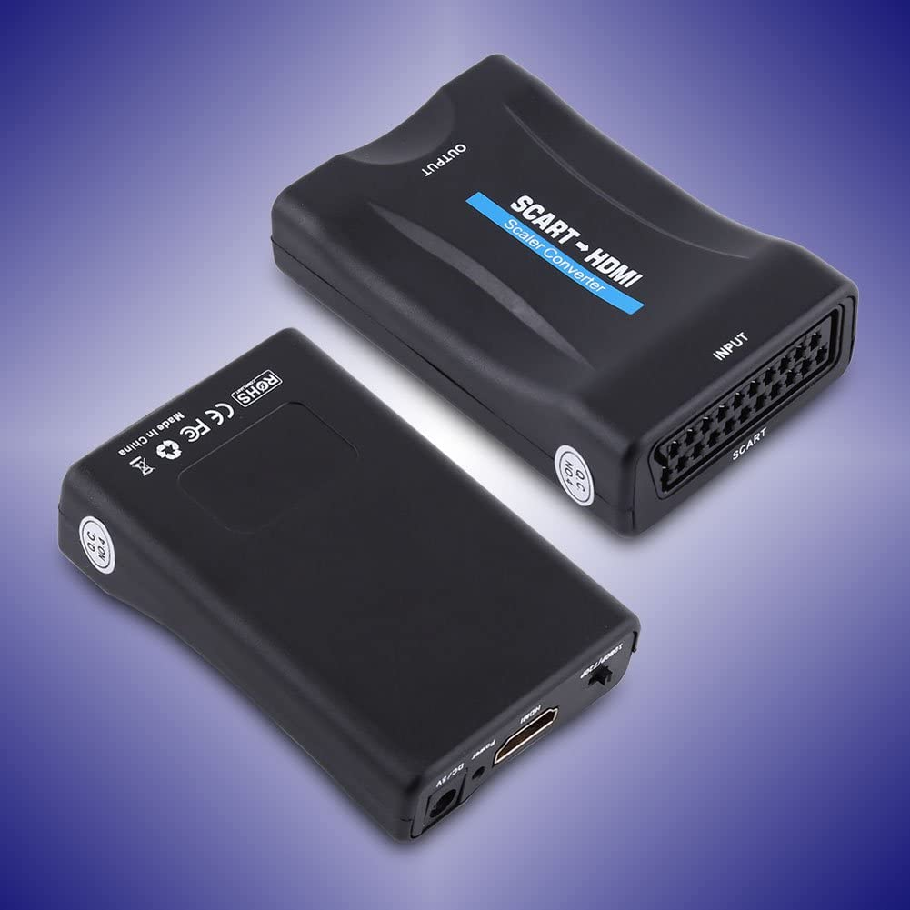 Socobeta Mini conversor de audio multifunci/ón duradero adaptador de v/ídeo Plug and Play con cable USB PAL NTSC3.58