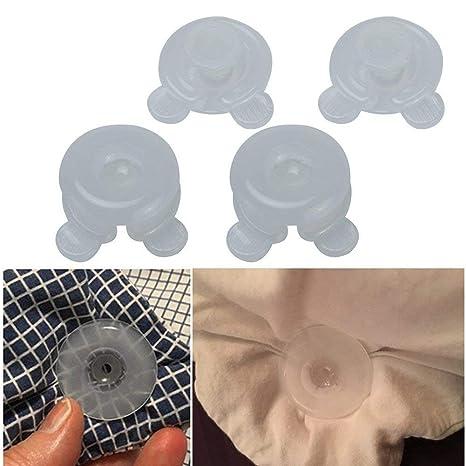YongYI Clips de edredón, 4 Piezas/Set de Clips de Colcha de plástico Duradero