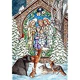 Toland Home Garden Winter Nativity 12.5 x 18-Inch Decorative USA-Produced Garden Flag