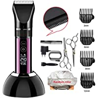 HavenJanny Professional Hair Clippers Hair Trimmer for Men Cordless Clippers for Stylists and Barbers